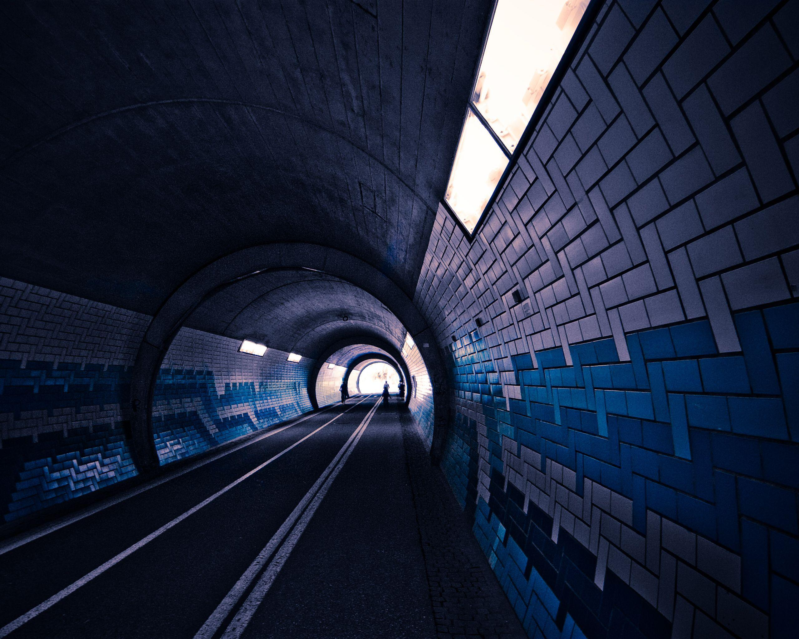 Streets dark cars tunnel wallpapers