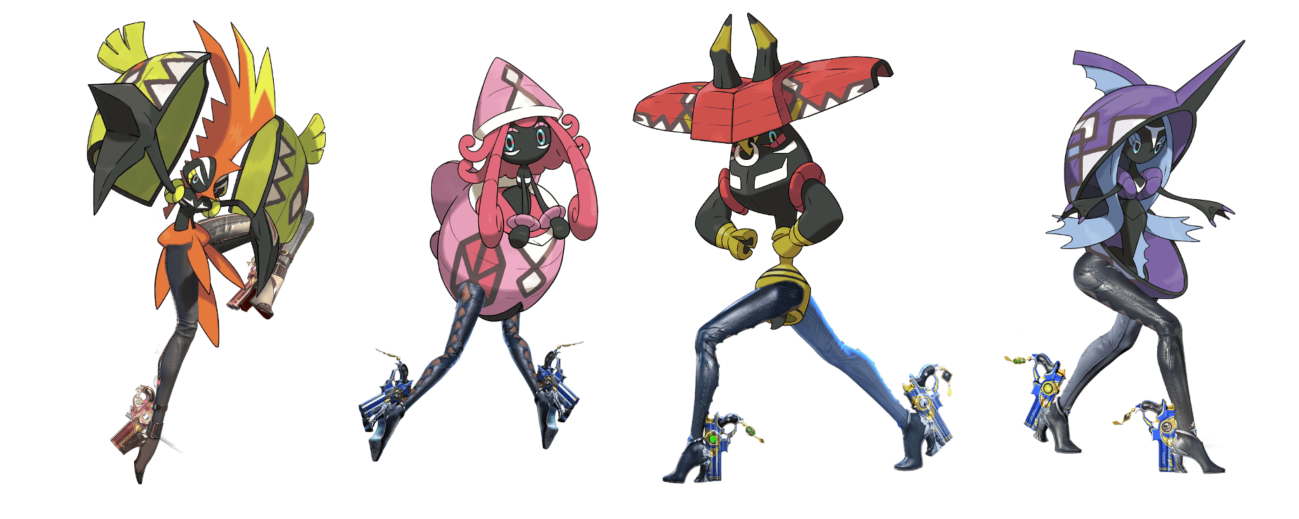 If you're an artist draw tapu's with legs - Pokemon Sun Message ...