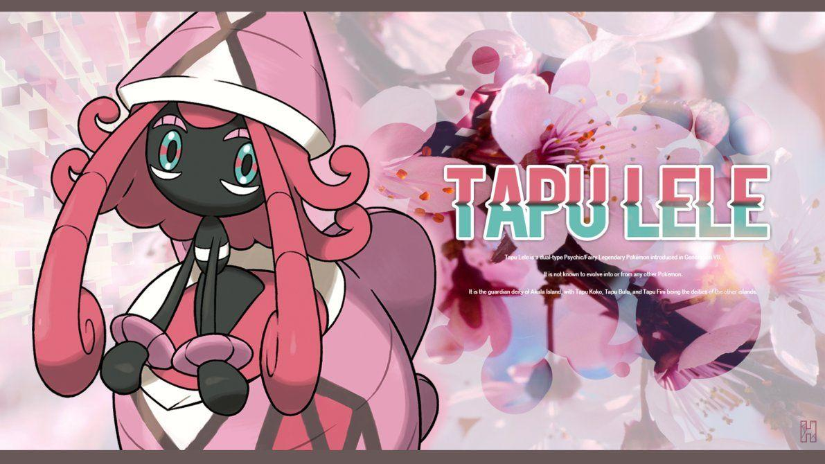 Tapu Lele - Wallpaper by Halethey on DeviantArt