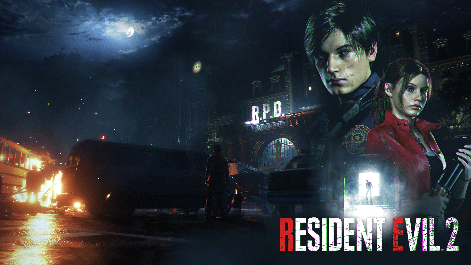 Resident Evil 2 Remake Wallpapers Wallpaper Cave