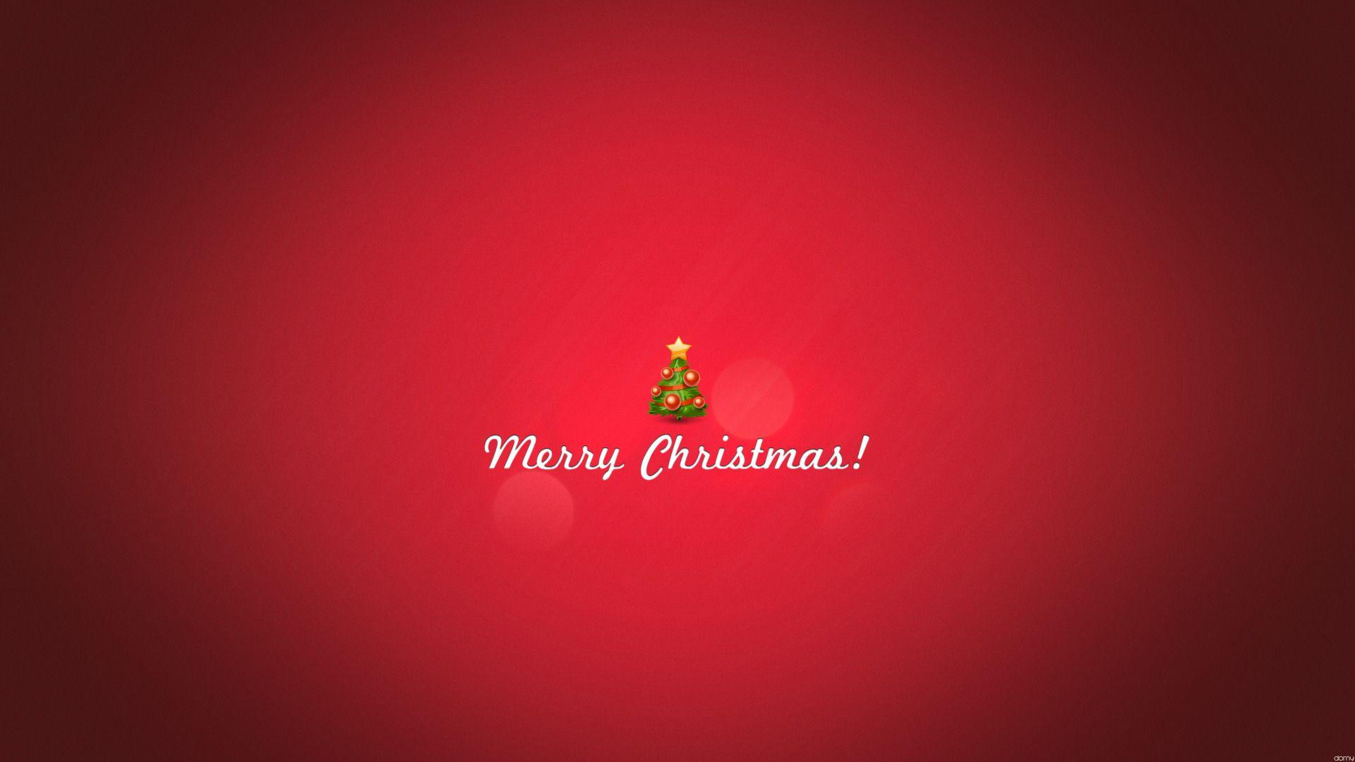Minimalist Snowy Christmas HD Wallpaper » FullHDWpp - Full HD ...