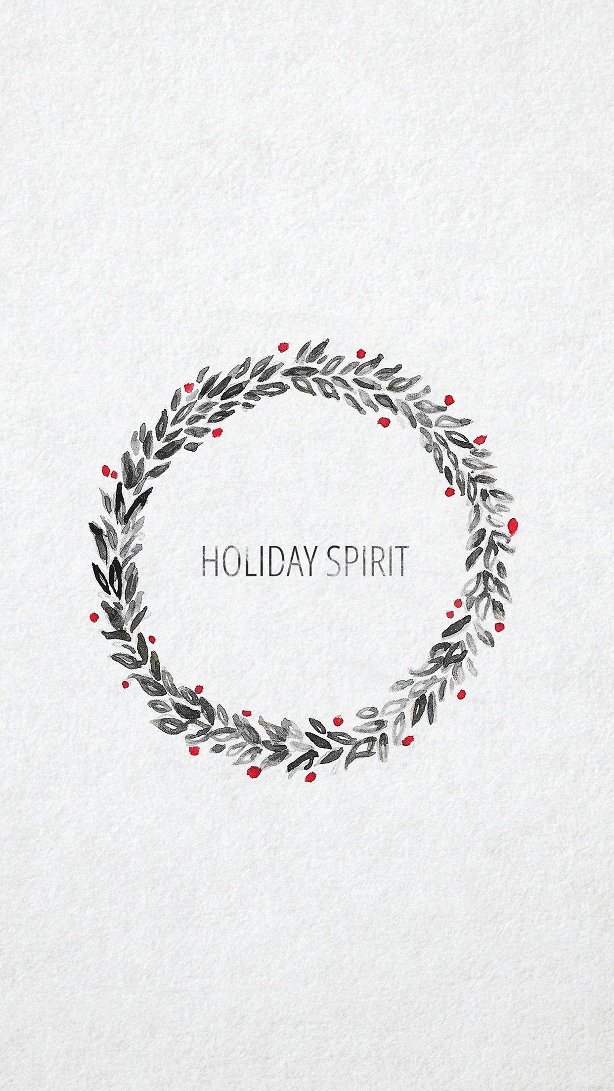Holiday Spirit Minimalist Christmas Art iPhone 6 Plus | iPhone 6 ...