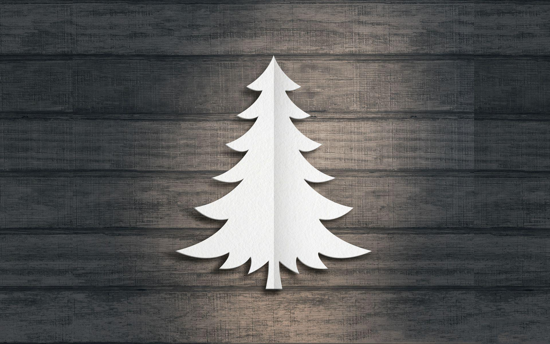 15 Minimalist Christmas Wallpapers