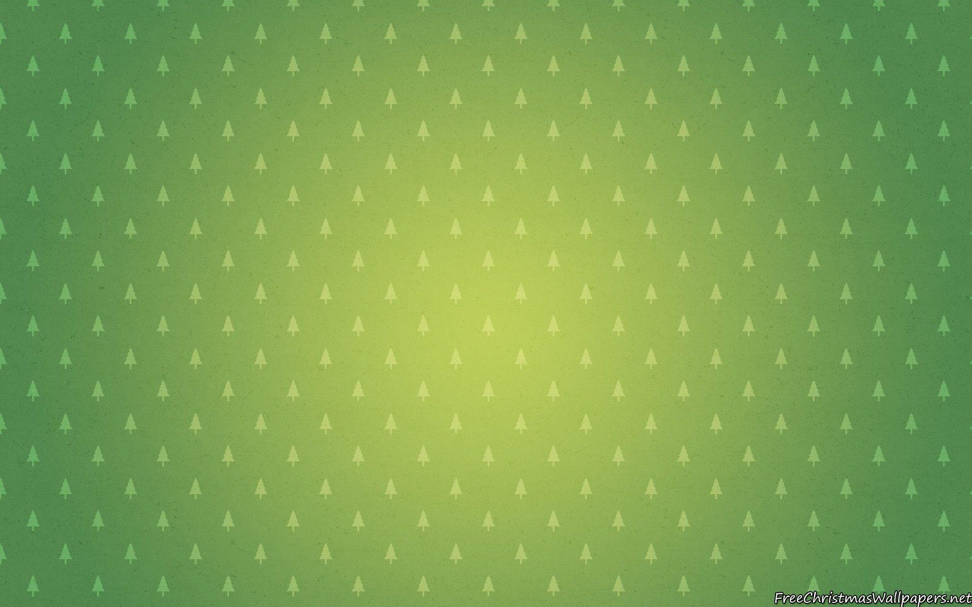 Green Christmas Minimalist Background - Wallpaper ...