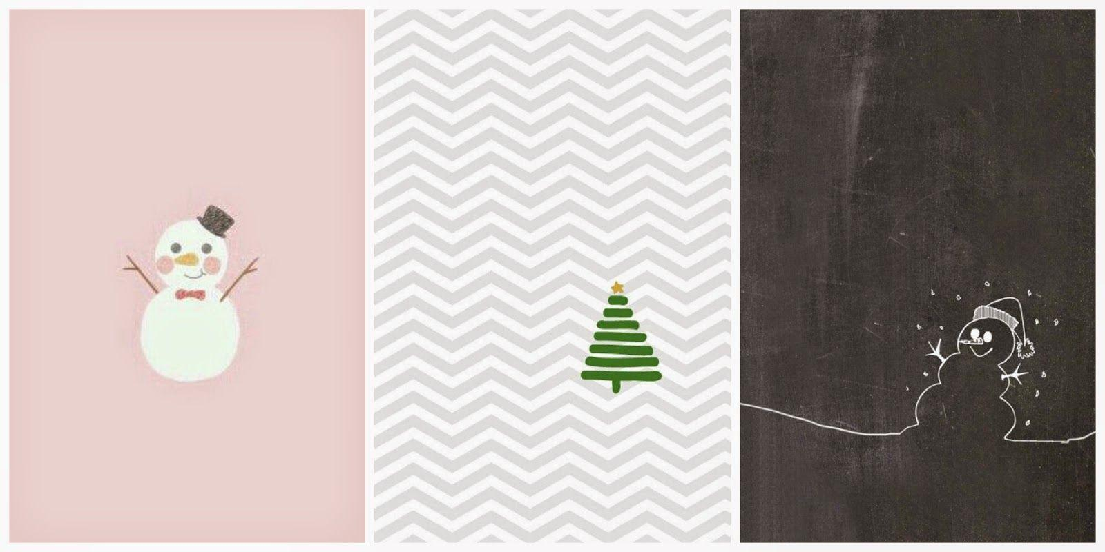 9 Things | iPhone Christmas Wallpapers - what lauren did today
