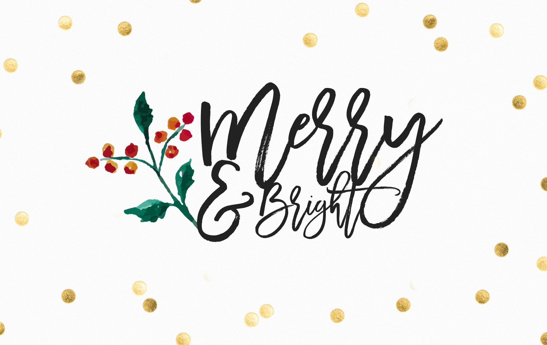 8 FREE Christmas Desktop and iPad Wallpapers — Life of Ellie Grace ...
