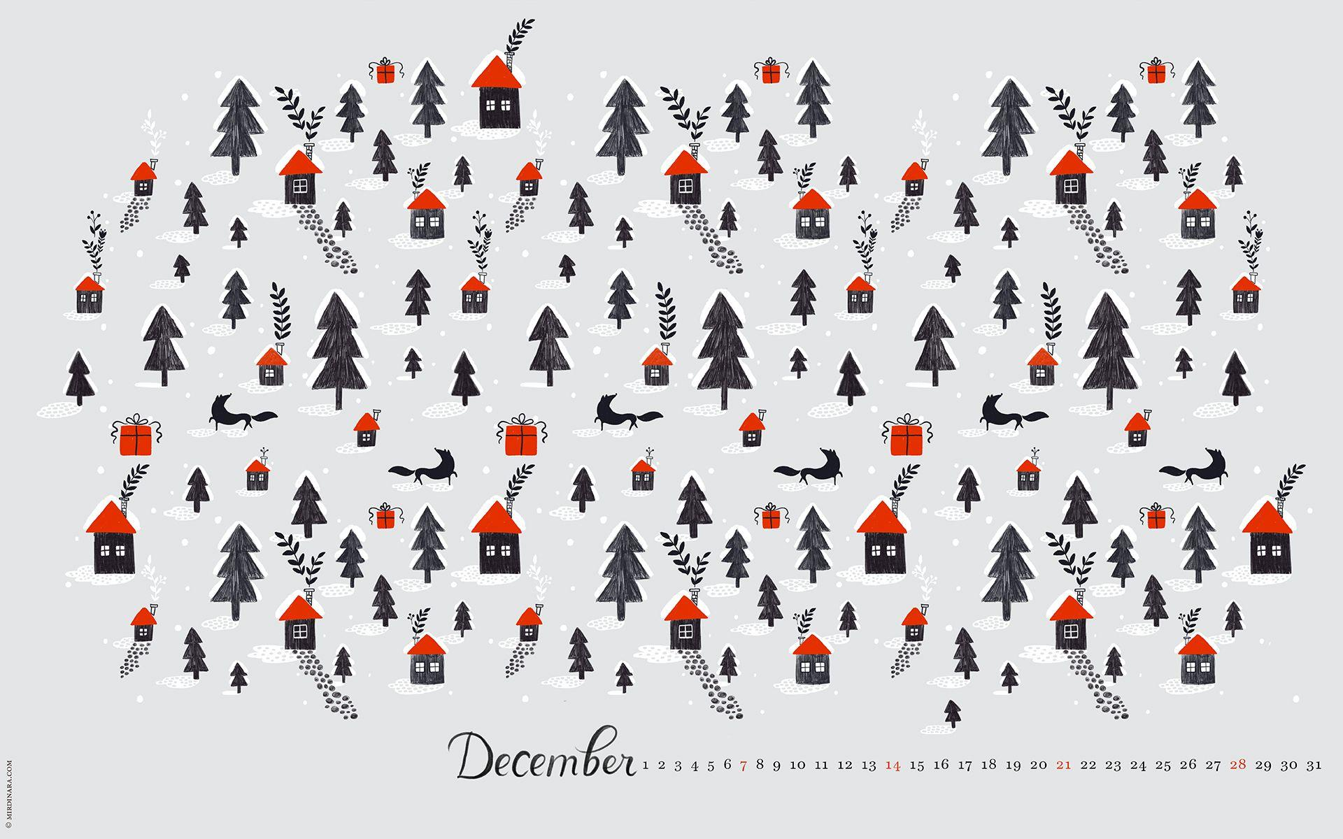 Wonderful Collection of 65 Creative Christmas Wallpapers – Neo Design
