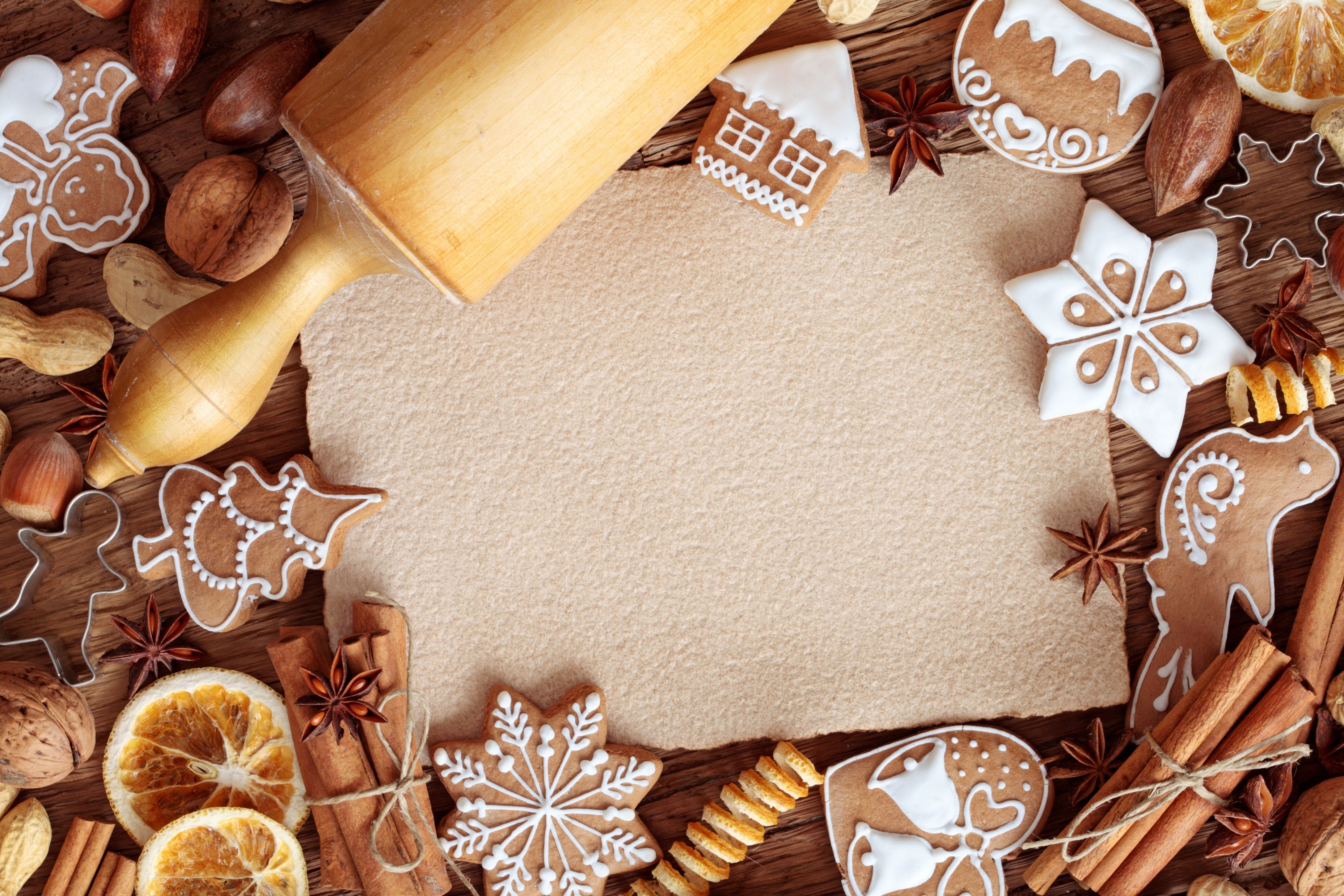 Christmas Food 4k Ultra HD Wallpaper | Background Image | 4350x2900 ...