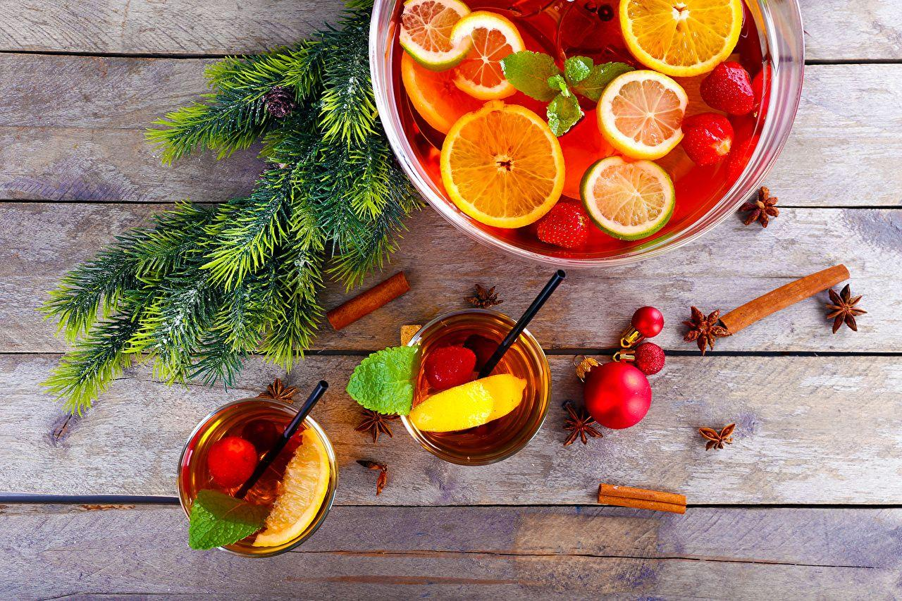 Wallpapers Christmas Cinnamon Highball glass Food Fruit Branches