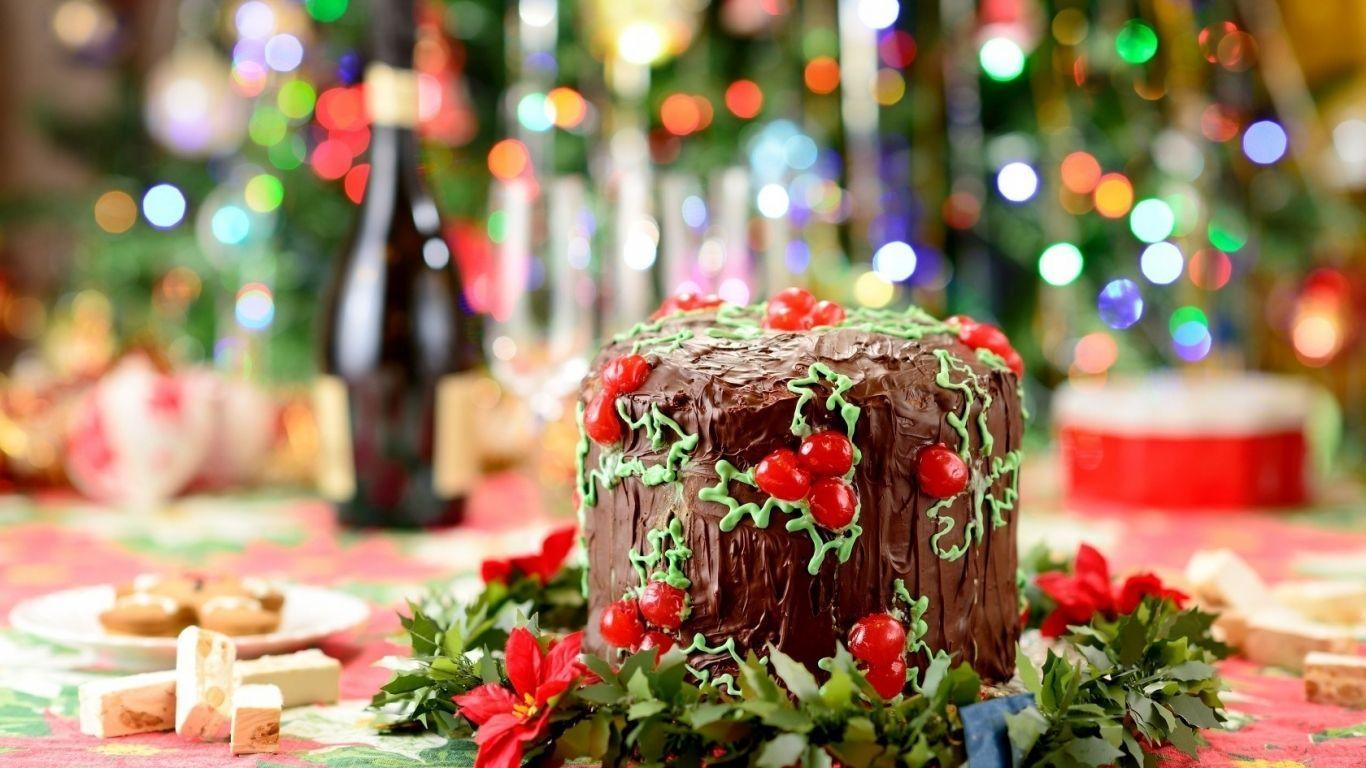 Christmas Chocolate Cake HD Wallpapers ...