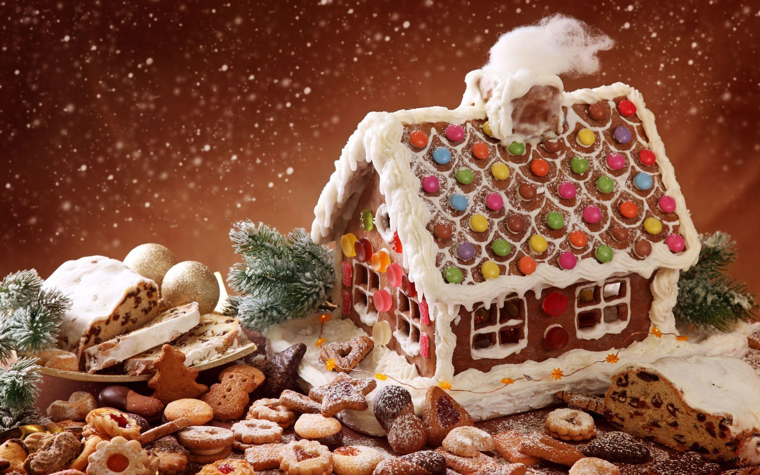 Christmas Gingerbread House wallpapers