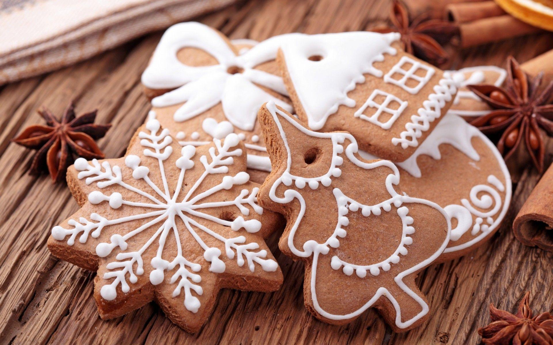 Christmas Cookies Wide - Wallpaper, High Definition, High Quality ...