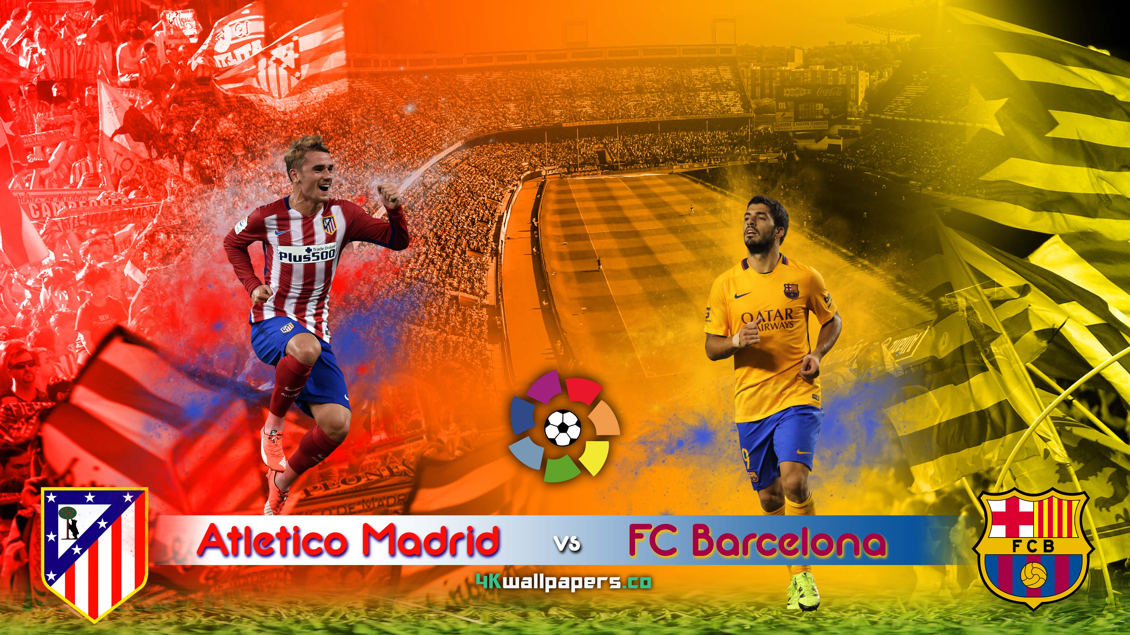 Barcelona Vs Atlético De Madrid Wallpapers