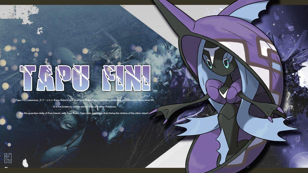 Tapu Fini - Wallpaper by Halethey on DeviantArt