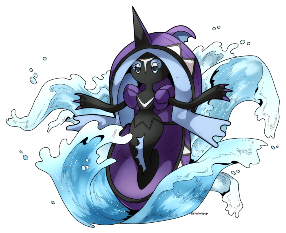 Tapu Fini by Desinho on DeviantArt