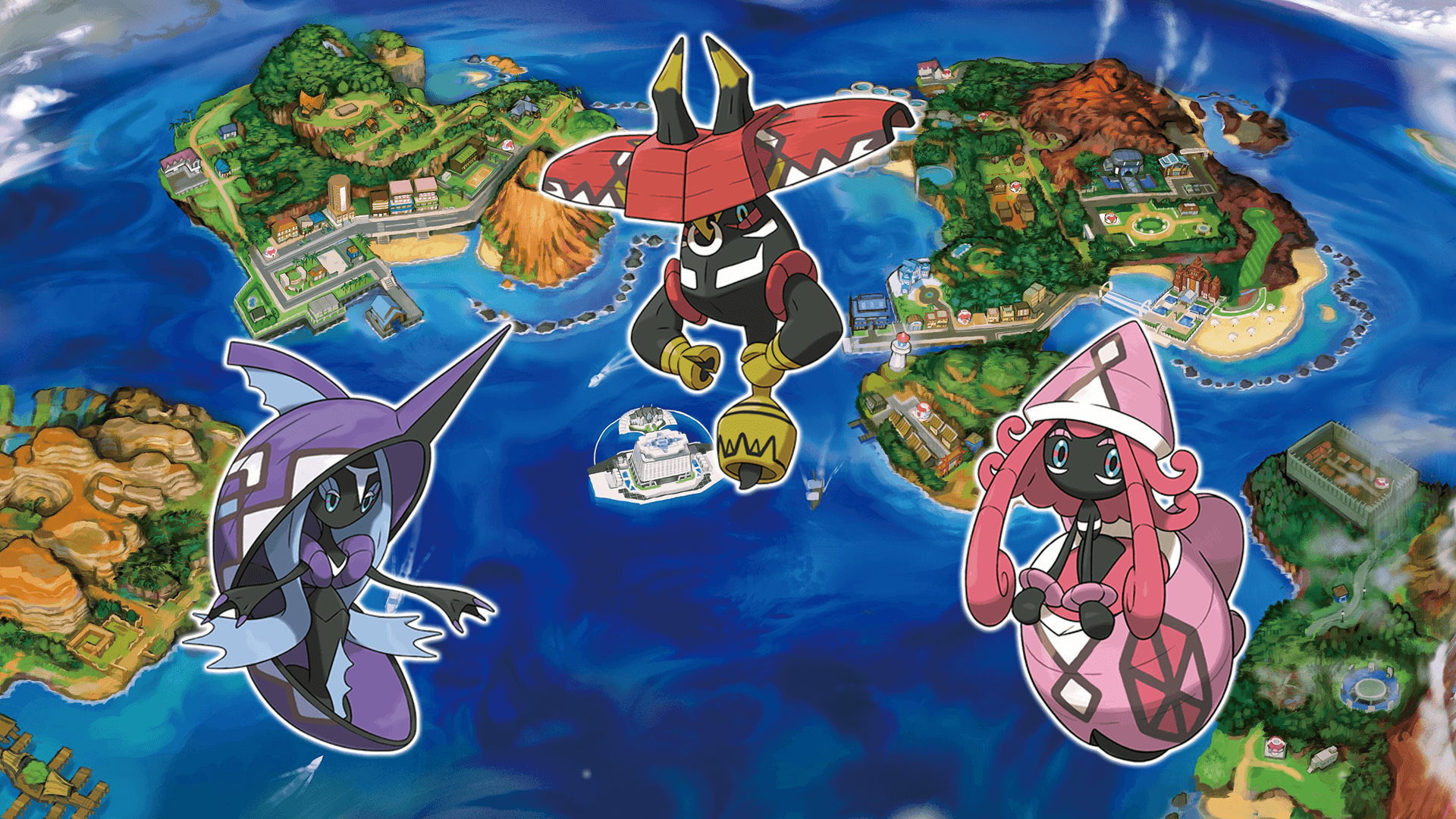 New island guardians revealed for Pokémon Sun & Moon | Nintendo Wire