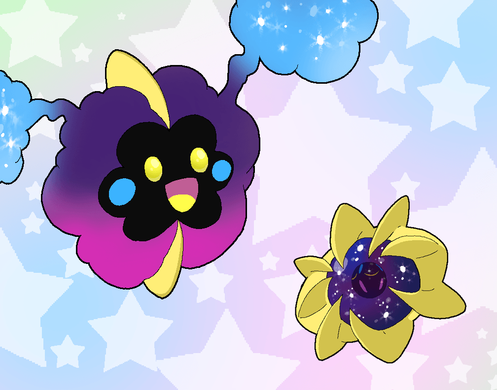 Cosmog and Cosmoem by Rotommowtom on DeviantArt