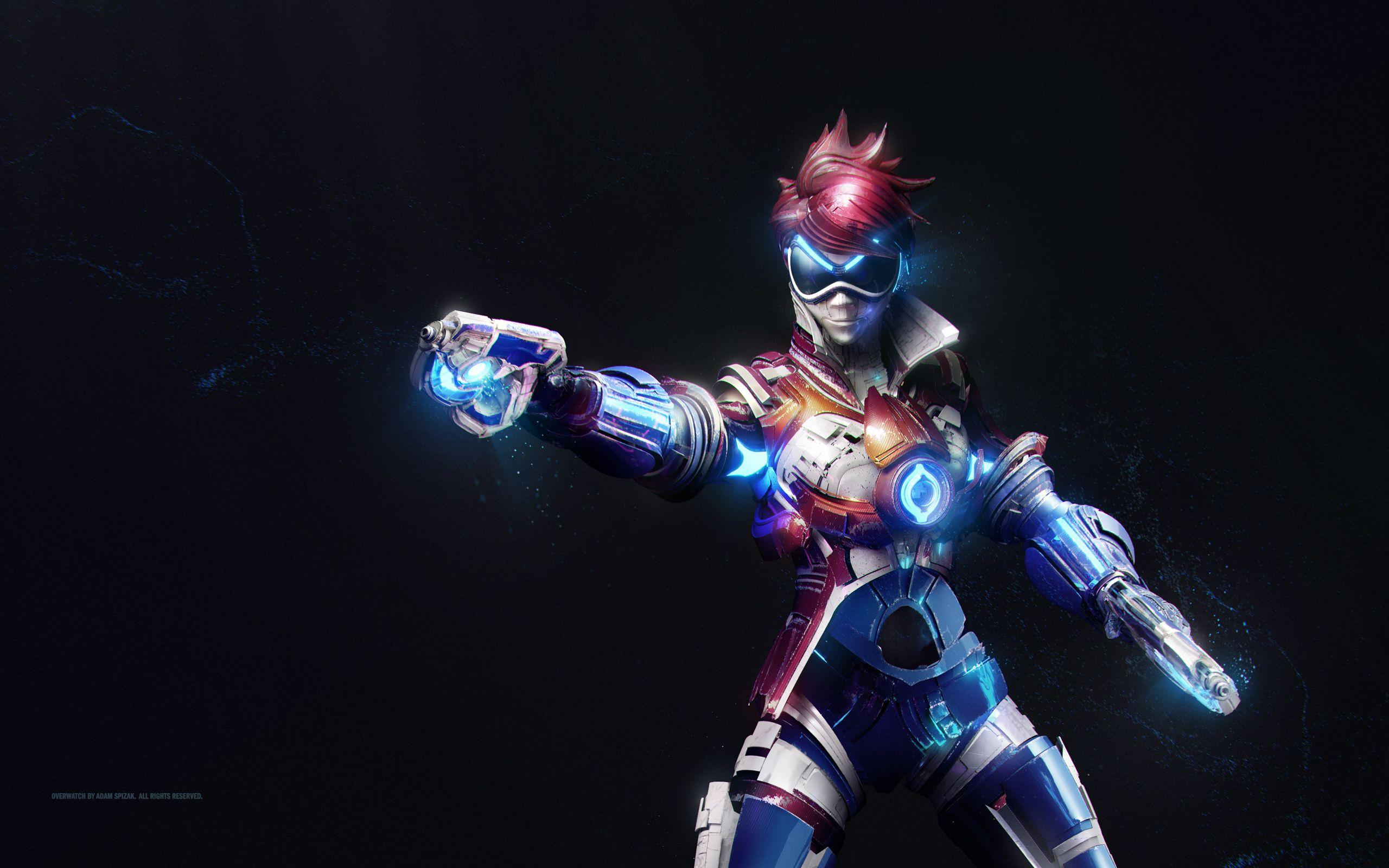 Overwatch Tracer Wallpapers Wallpaper Cave