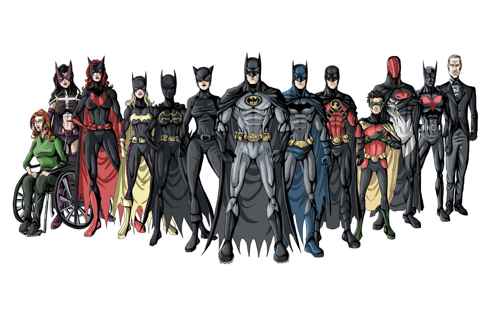 comics - Who are these Bat-family members? - Science Fiction ...