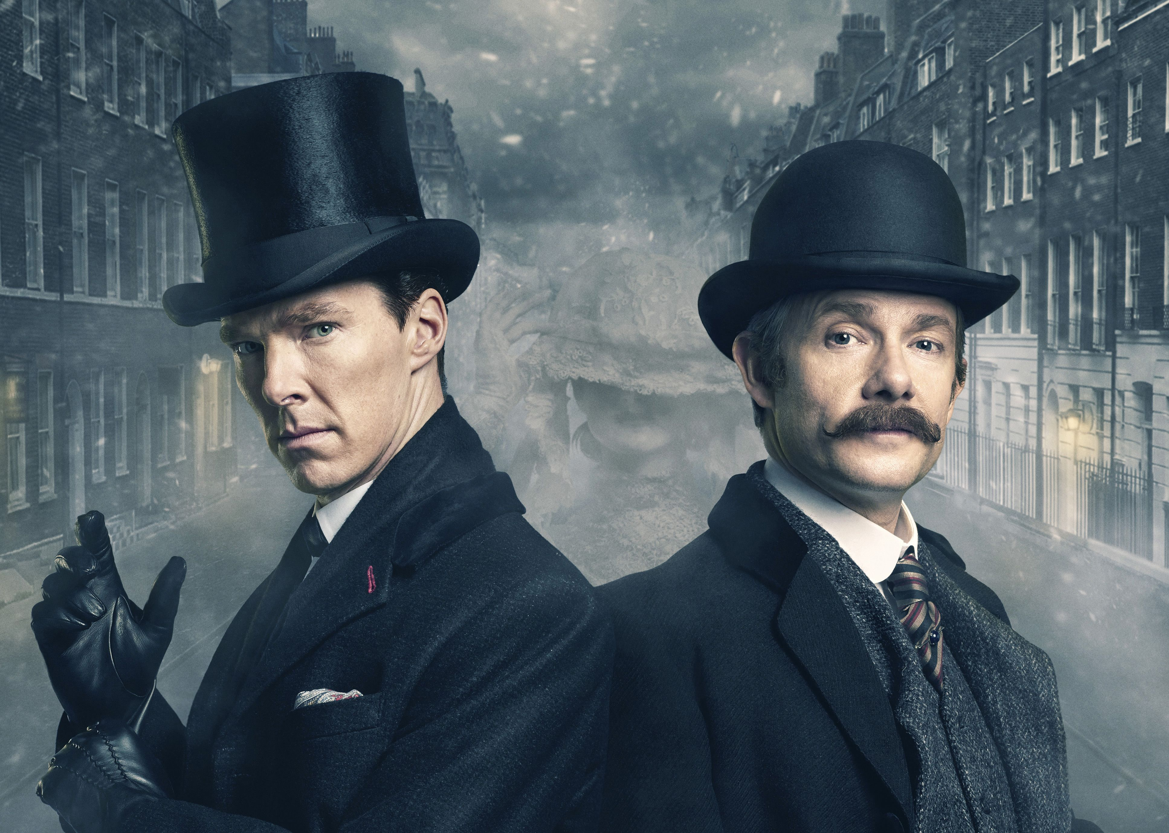 Benedict Cumberbatch And Martin Freeman Sherlock Holmes, HD Tv Shows
