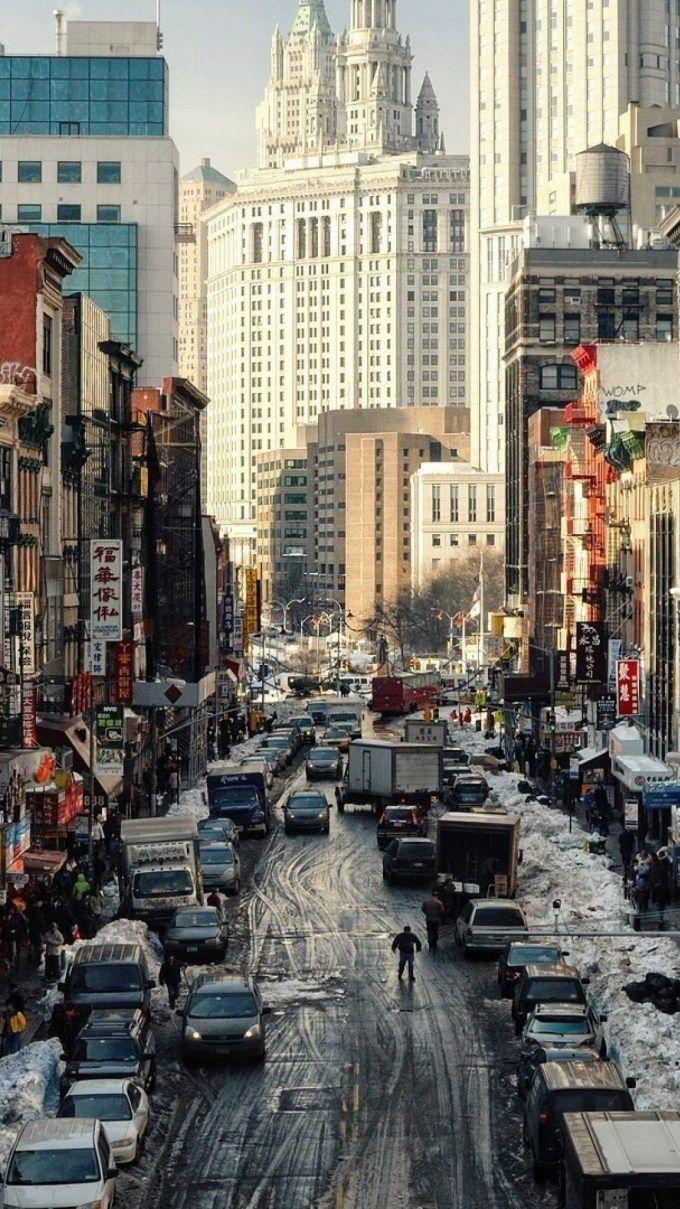 New York Winter Wallpapers Wallpaper Cave
