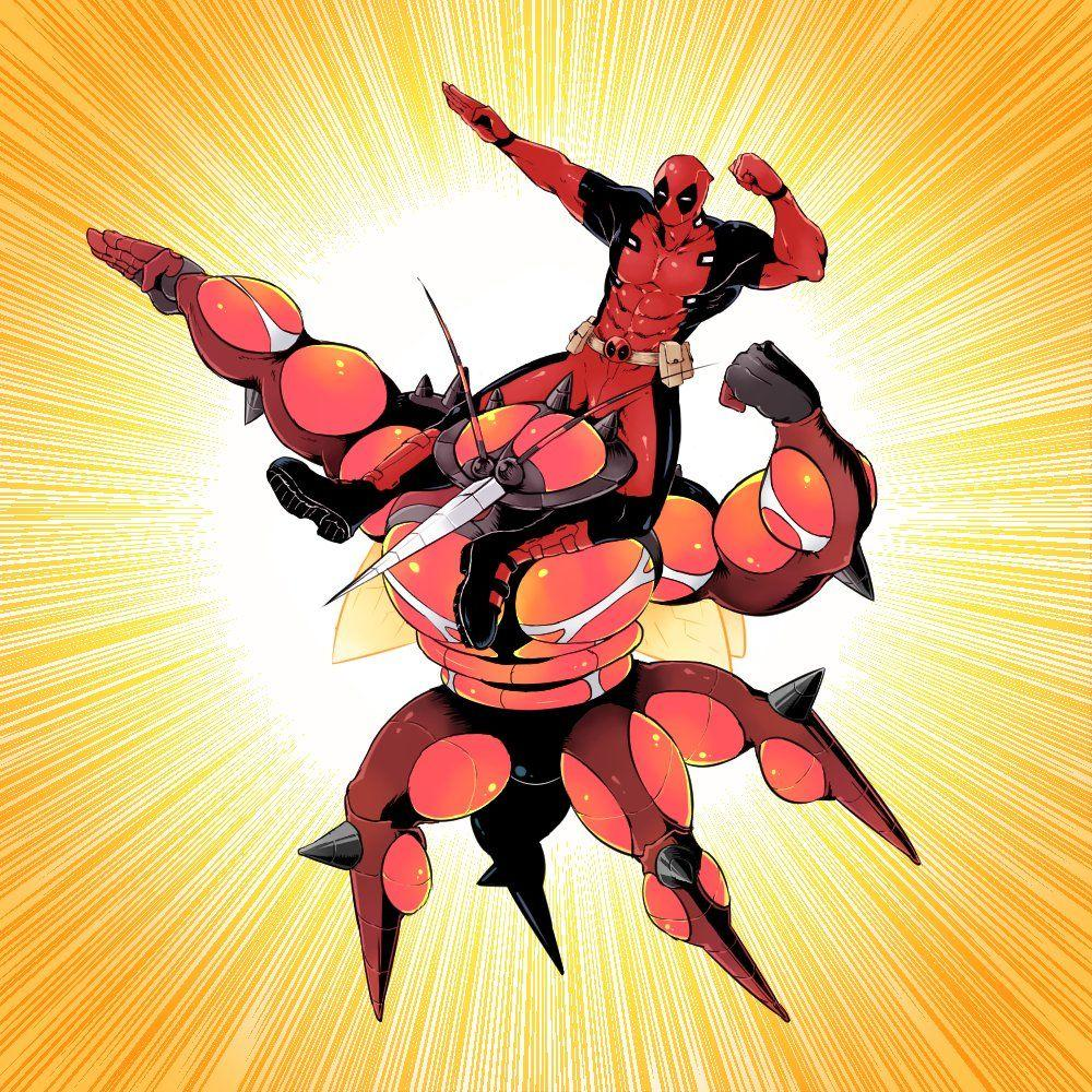 Buzzwole and Deadpool