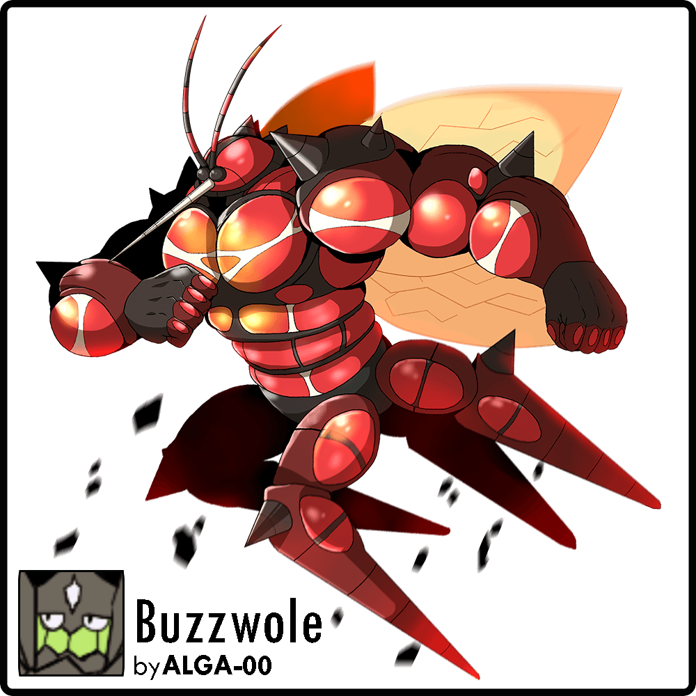 Alola Dex Collab : Buzzwole by ALGA