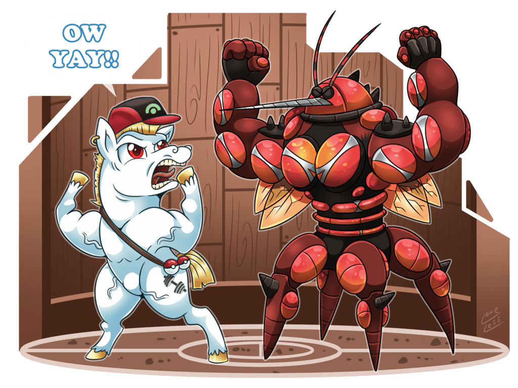 Bulk Biceps and Buzzwole