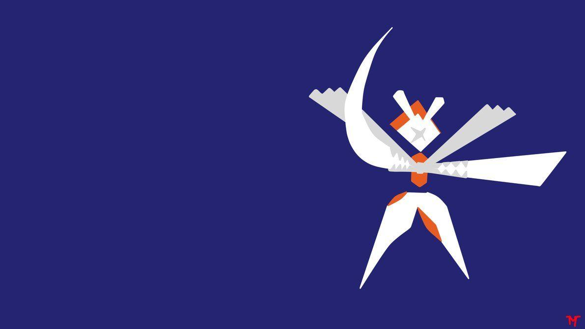 Shiny Kartana Minimalistic Wallpaper (Request) by Morshute on DeviantArt