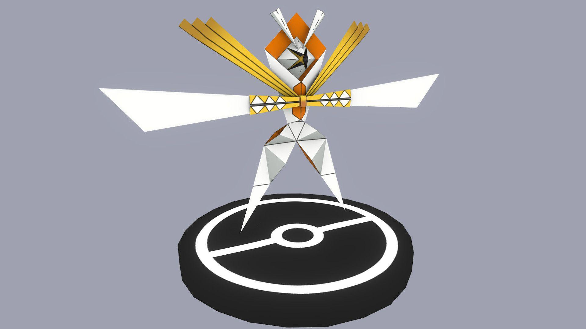 ArtStation - Pokemon #798 - Kartana, Juan Beltran