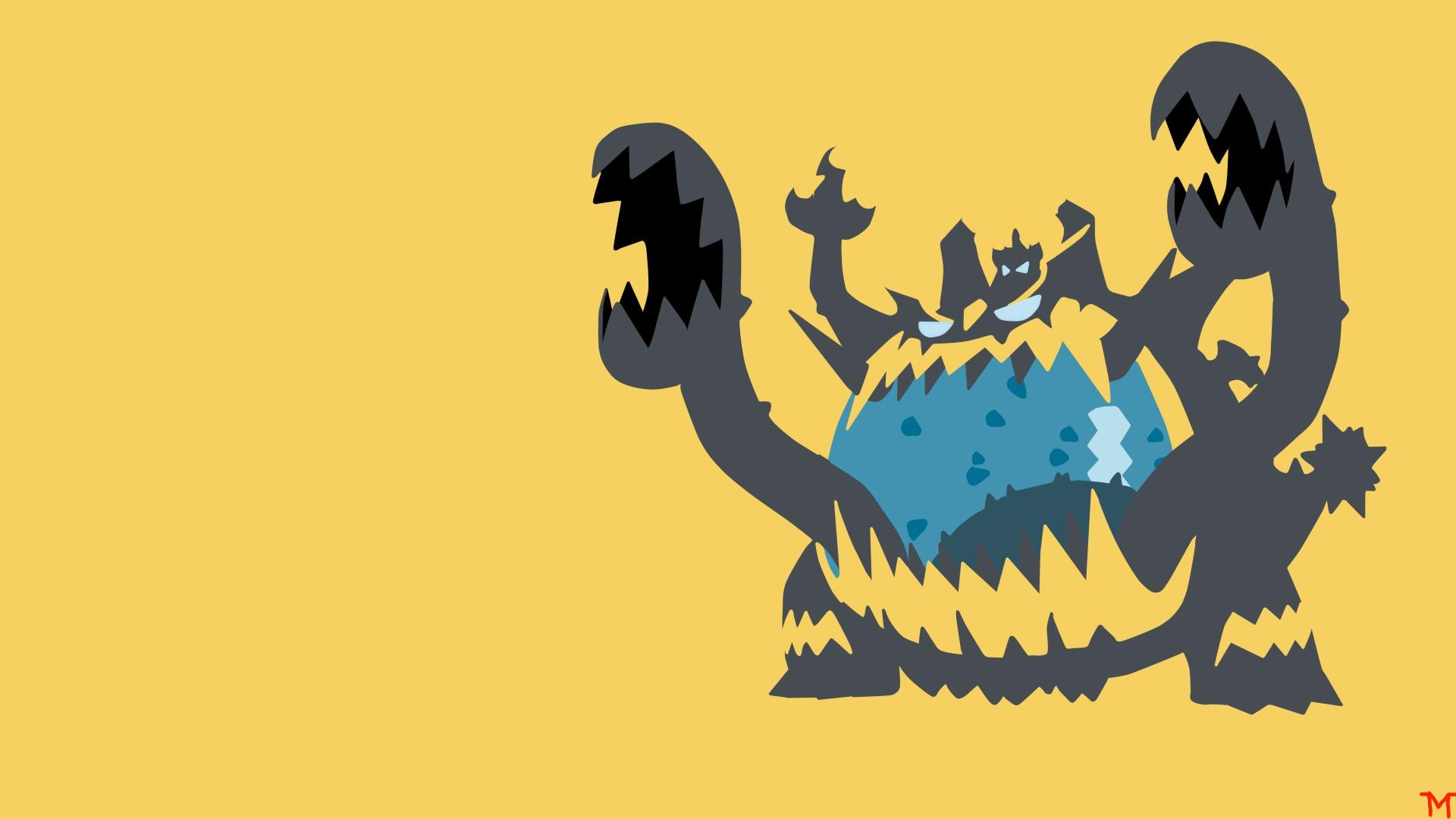 Guzzlord Pokemon Sun and Moon Minima... Wallpaper #19259