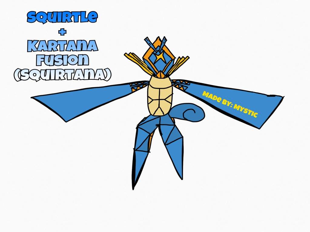 Squirtle and Kartana Fusion! | Pokemon Fangame Amino Amino