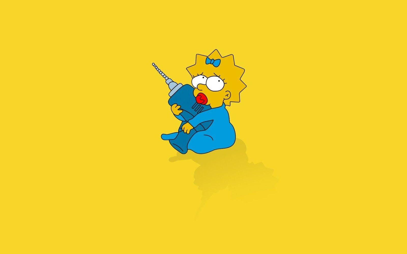Maggie Simpson Wallpapers - Wallpaper Cave