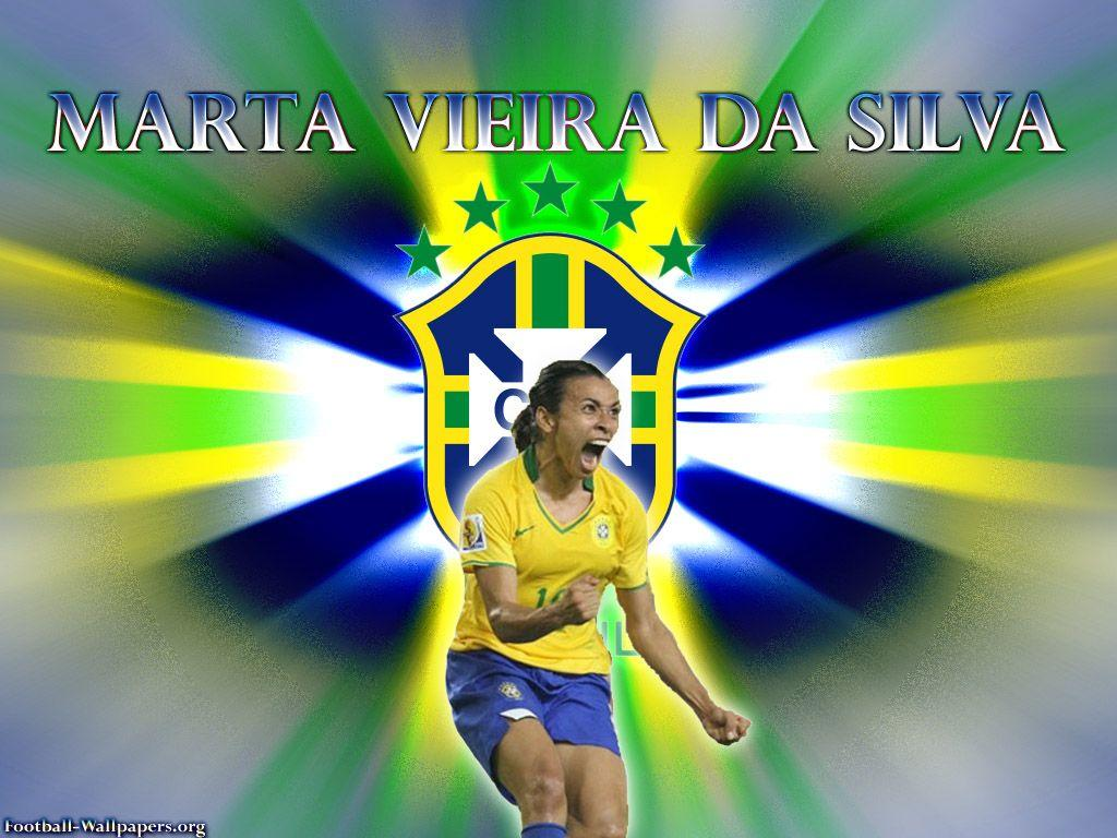 Football Soccer Wallpapers » Marta Vieira Da Silva Wallpapers
