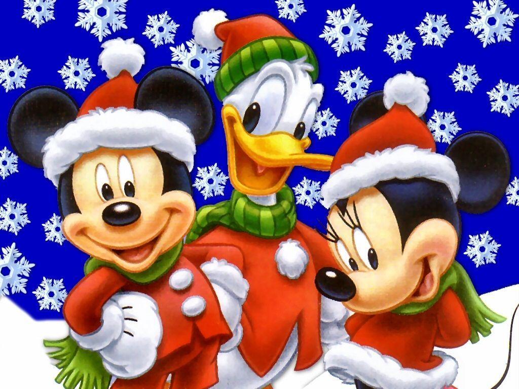 Cartoon Christmas Wallpapers Wallpaper Cave