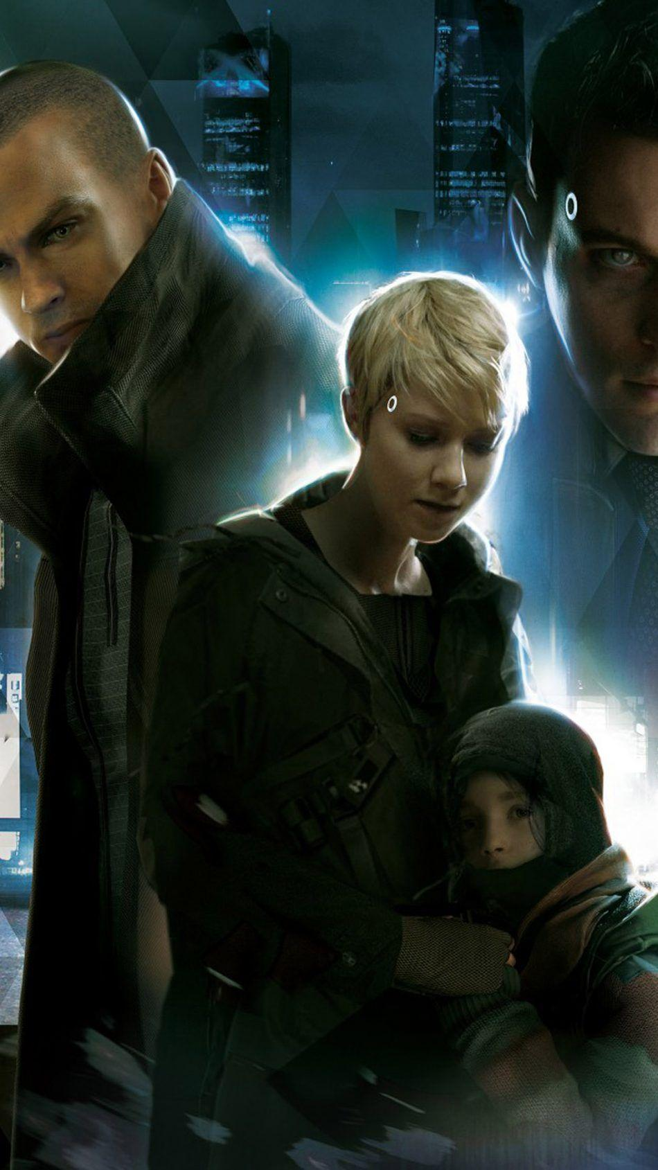 Download Detroit Become Human PS4 Game Free Pure 4K Ultra HD Mobile