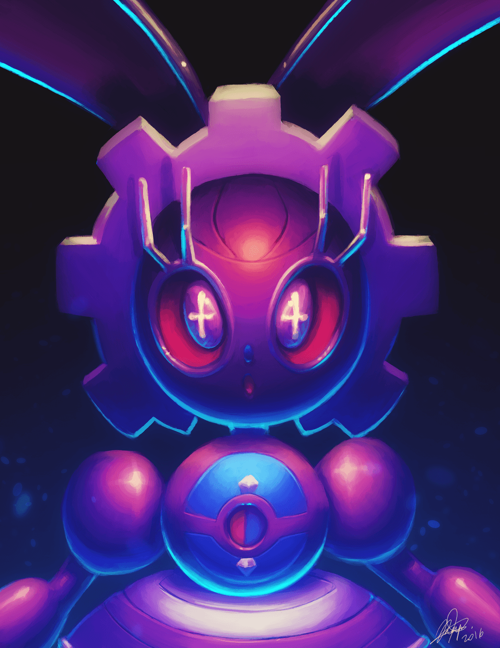 Magearna by KyseL on DeviantArt