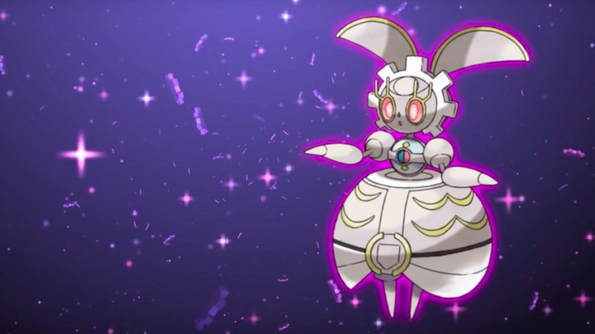 Pokemon Sun and Moon Official Add the Power of Magearna Trailer ...