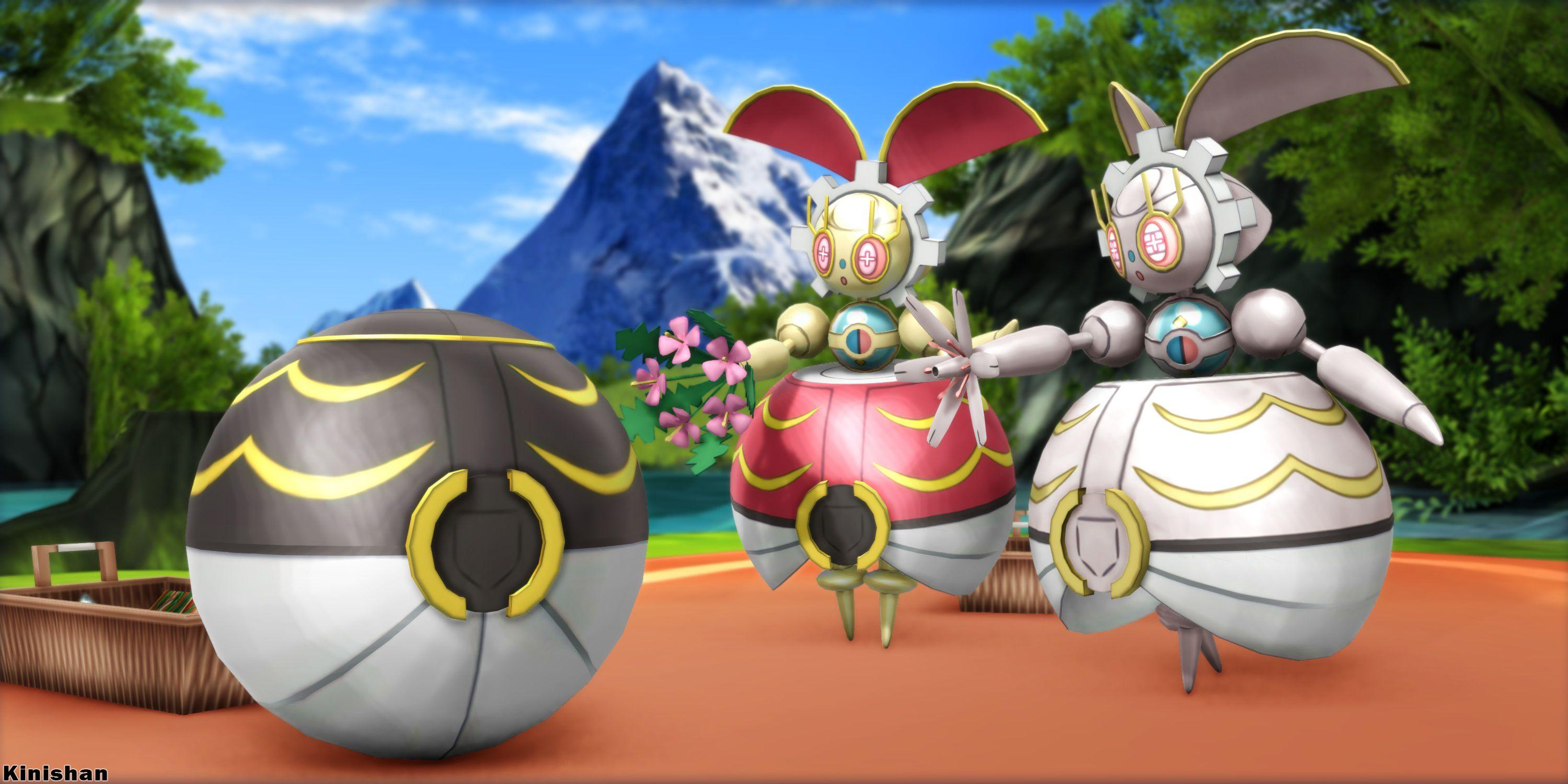 MMD Pokemon] Download- Magearna by Kinishan on DeviantArt