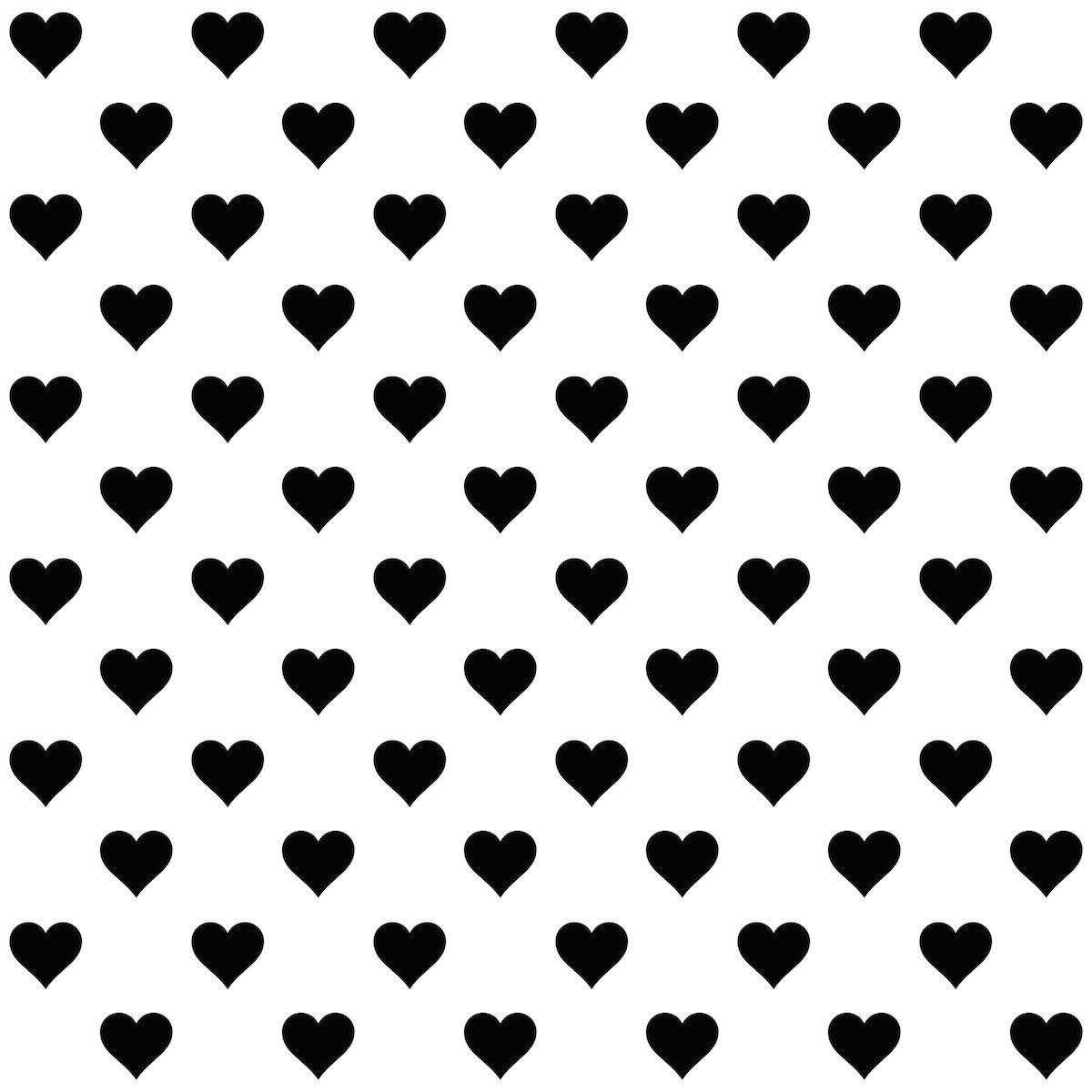 Free Hearts Black And White, Download Free Clip Art, Free Clip Art