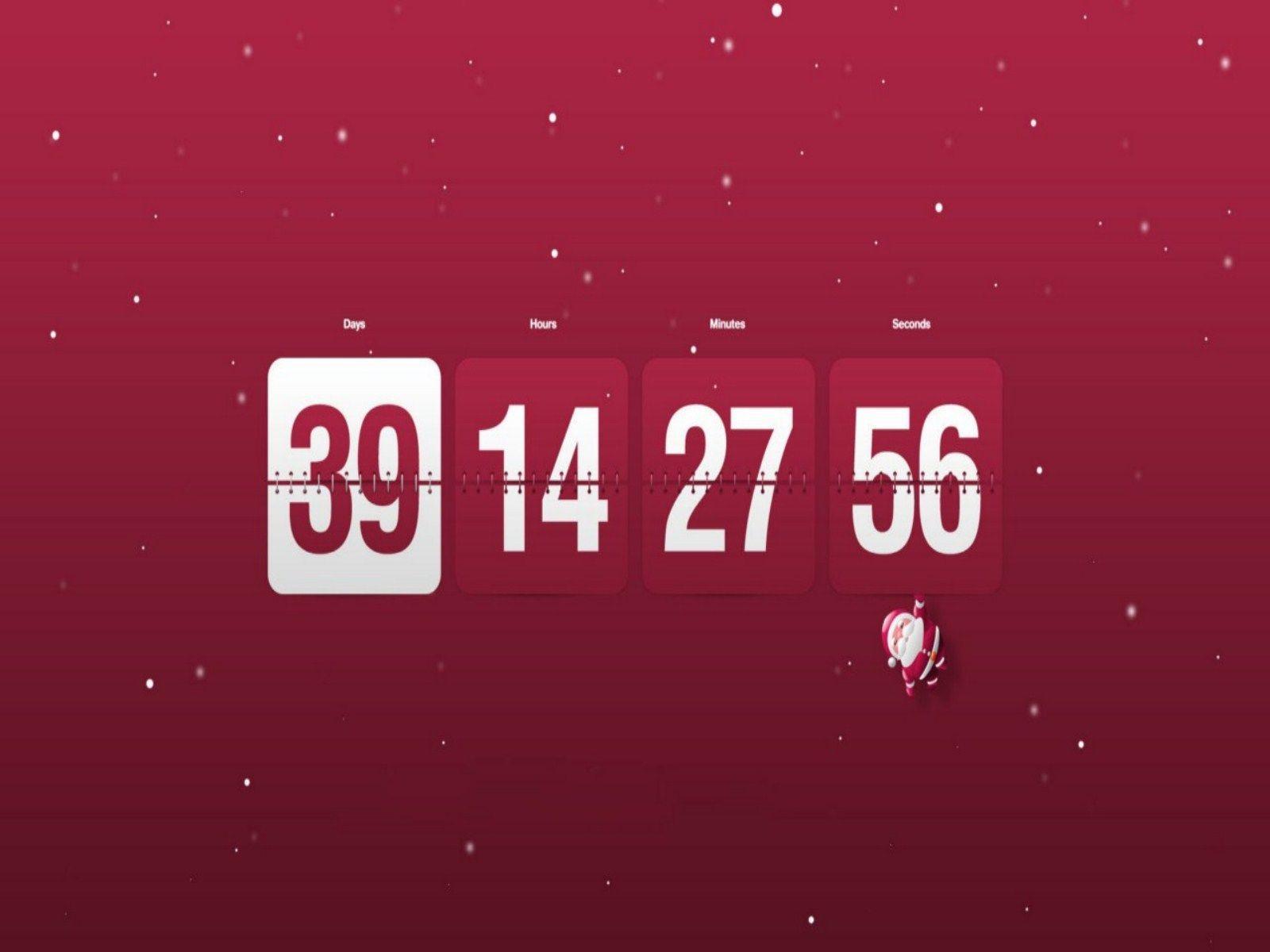 Christmas Countdown Wallpaper | Woneninoneofakind