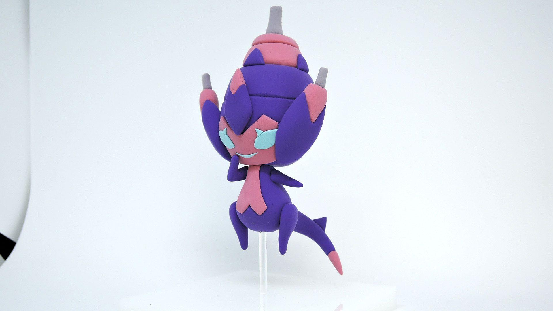 I sculpted Ultra beast Poipole : pokemon