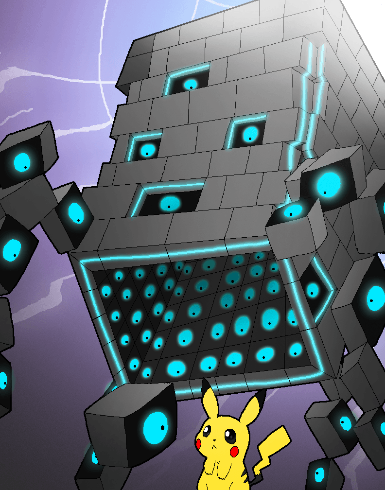 A wild Stakataka Appeared by Rotommowtom