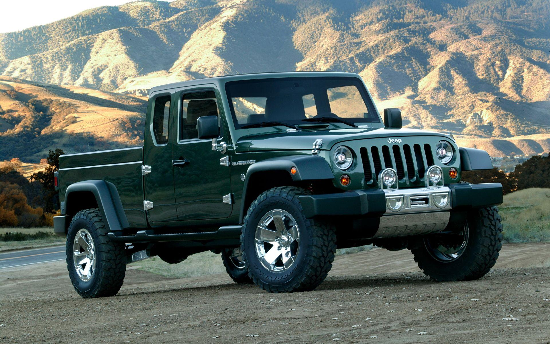 Images Jeep Gladiator Cars 1920x1200