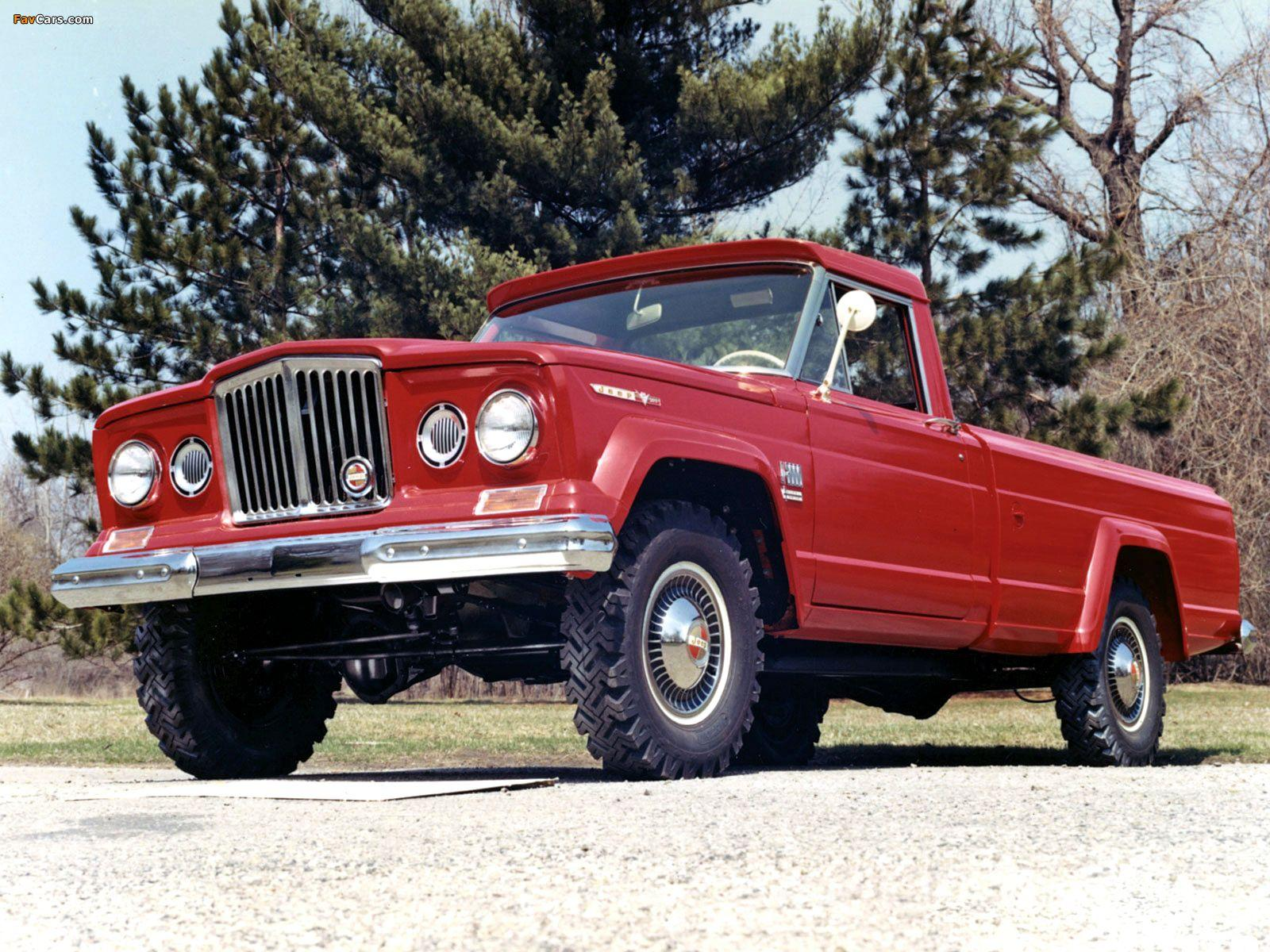 Pictures of Jeep Gladiator 1962–70