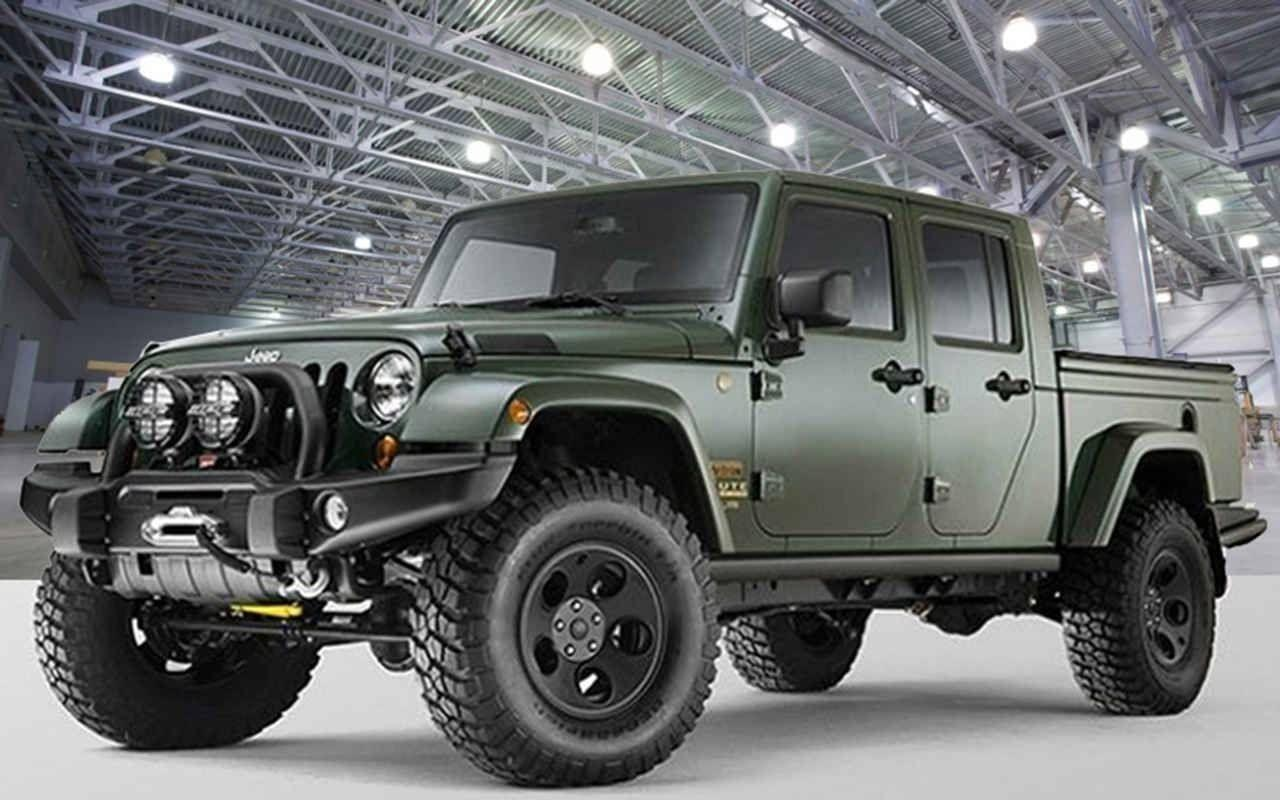 2019 Jeep Gladiator Top High Resolution Images | Autoweik.com