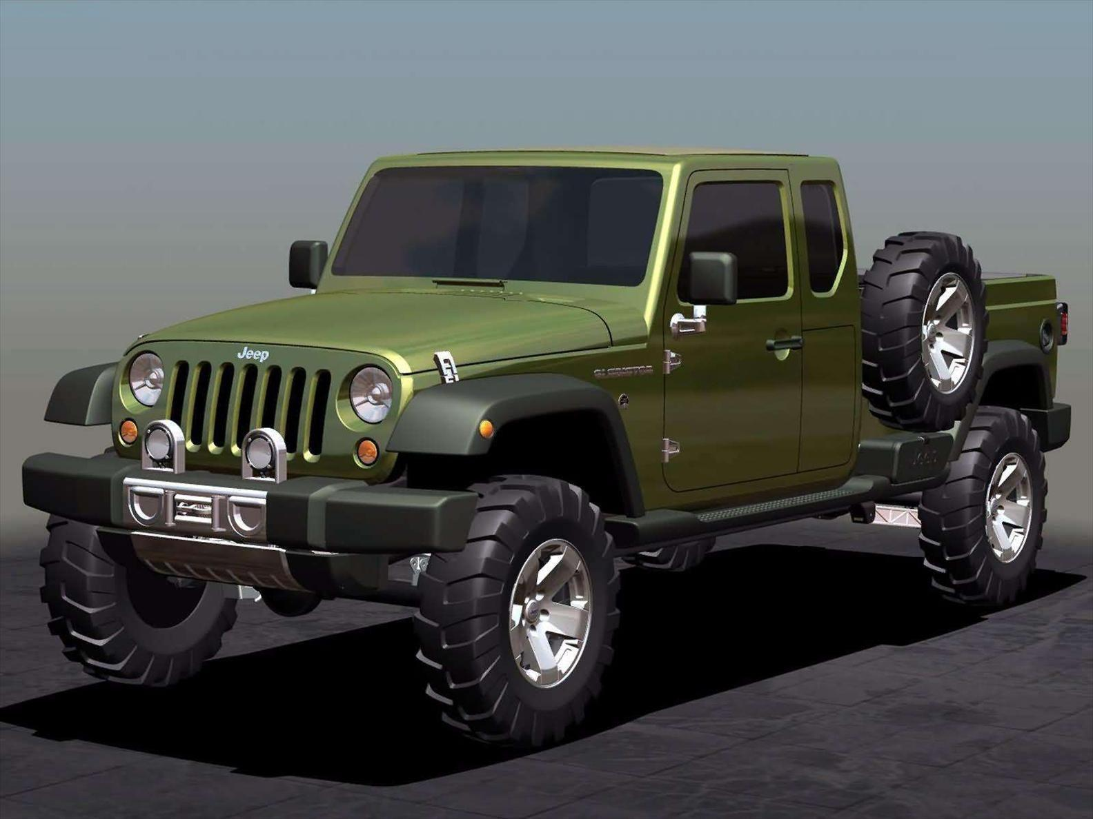Jeep-Gladiator-Concept-2005-Front-Sideview