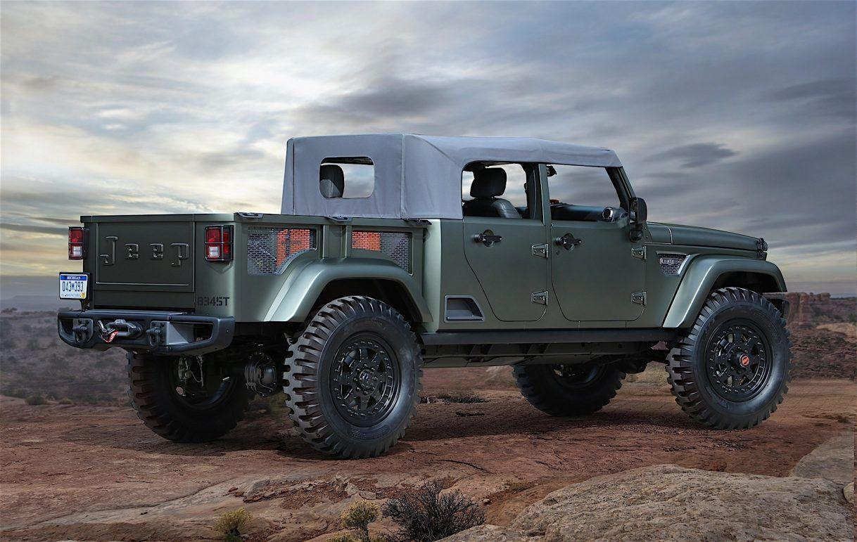 2019 Jeep Gladiator Exterior High Resolution Wallpapers | Car ...