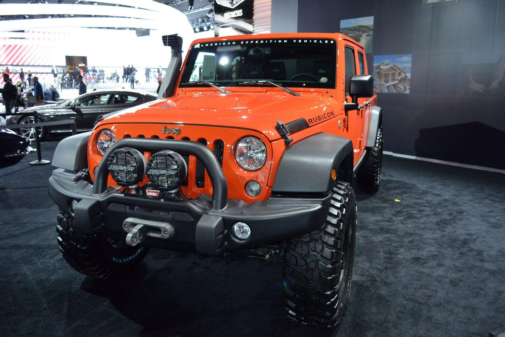 New 2019 Jeep Gladiator Look High Resolution Wallpapers | New ...