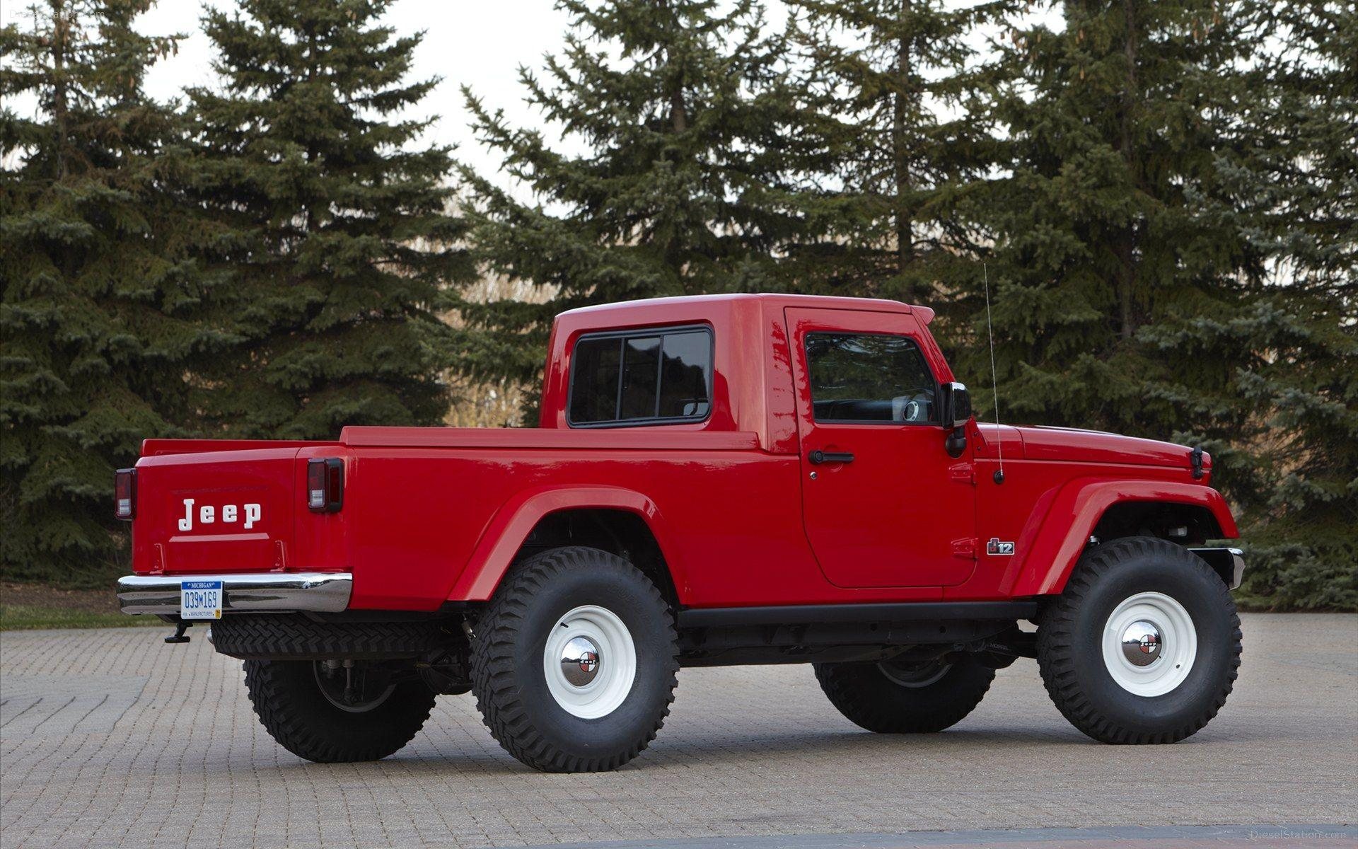 Jeep J 12 Concept 2012 Widescreen Exotic Car Wallpapers #02 of 8 ...